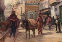 دمشق 1908 - مسجد الدرويشية
