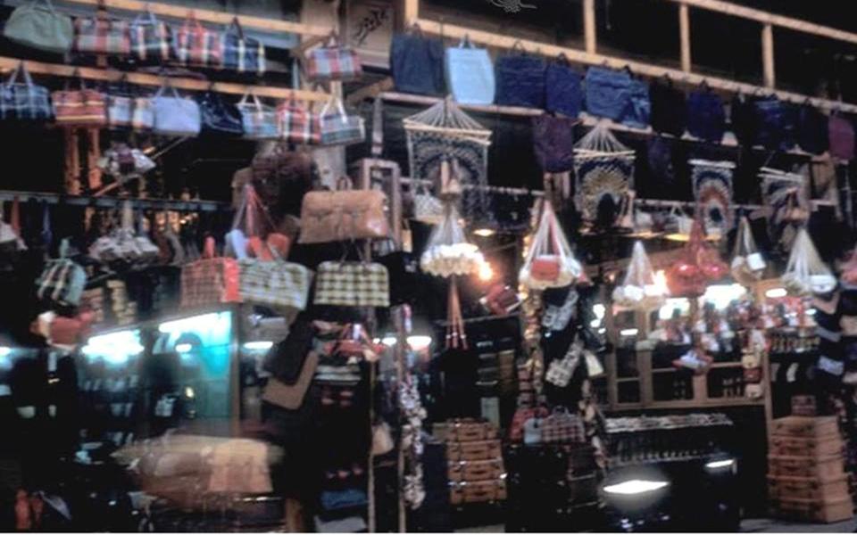 دمشق 1952- المتاجر السفلية في سوق الخجا