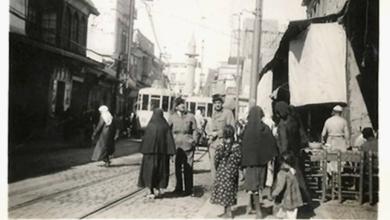 دمشق 1940- جادة الدرويشية ..