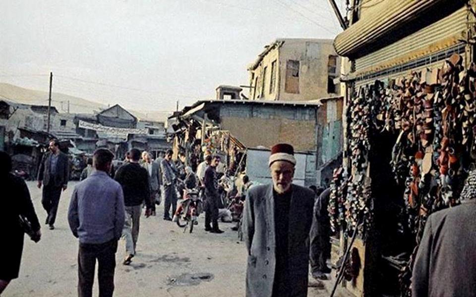 دمشق 1967- مدخل سوق الزرابلية