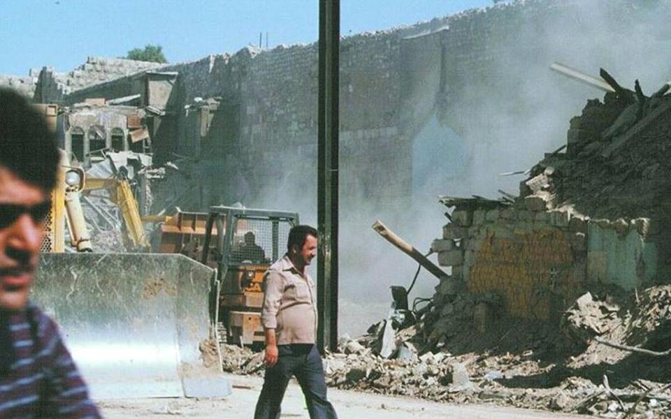 دمشق 1983- أعمال إزالة سوق الخجا