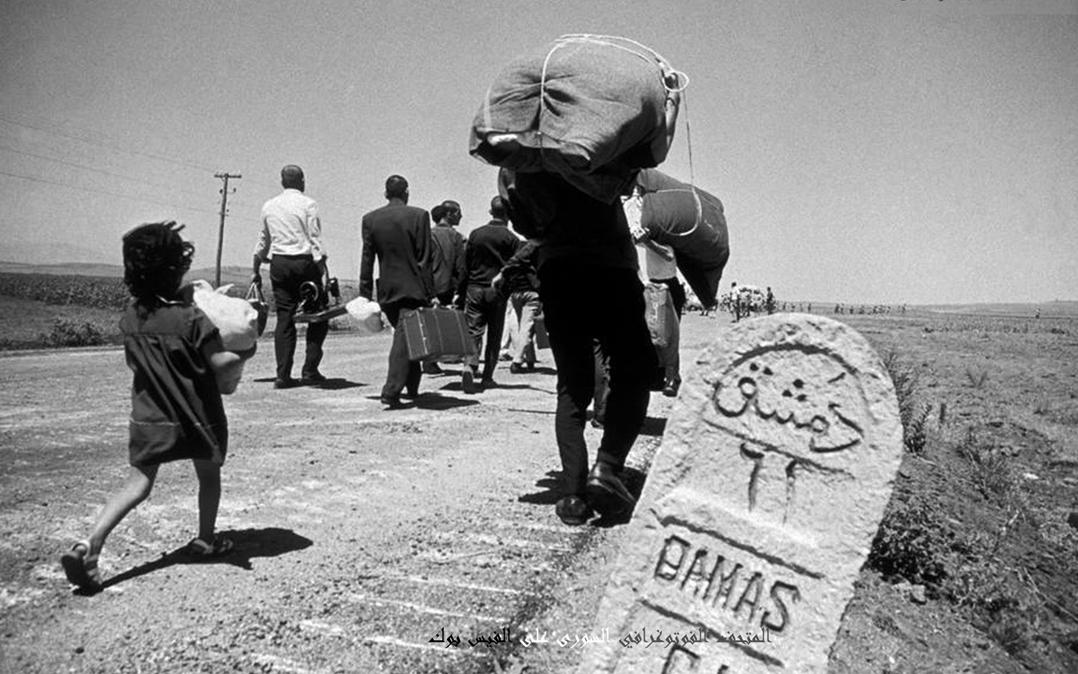 القنيطرة 1967 - النزوح
