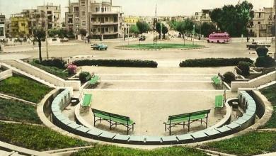 دمشق- حديقة الروضة وشارع أبو رمانة في بداية الستينيات