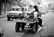 دمشق 1986 -البائع التجول