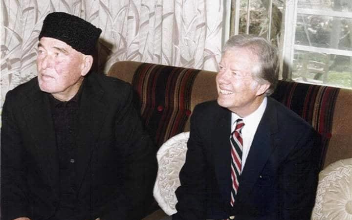 الرئيس كارتر في مرج السلطان بالغوطة الشرقية