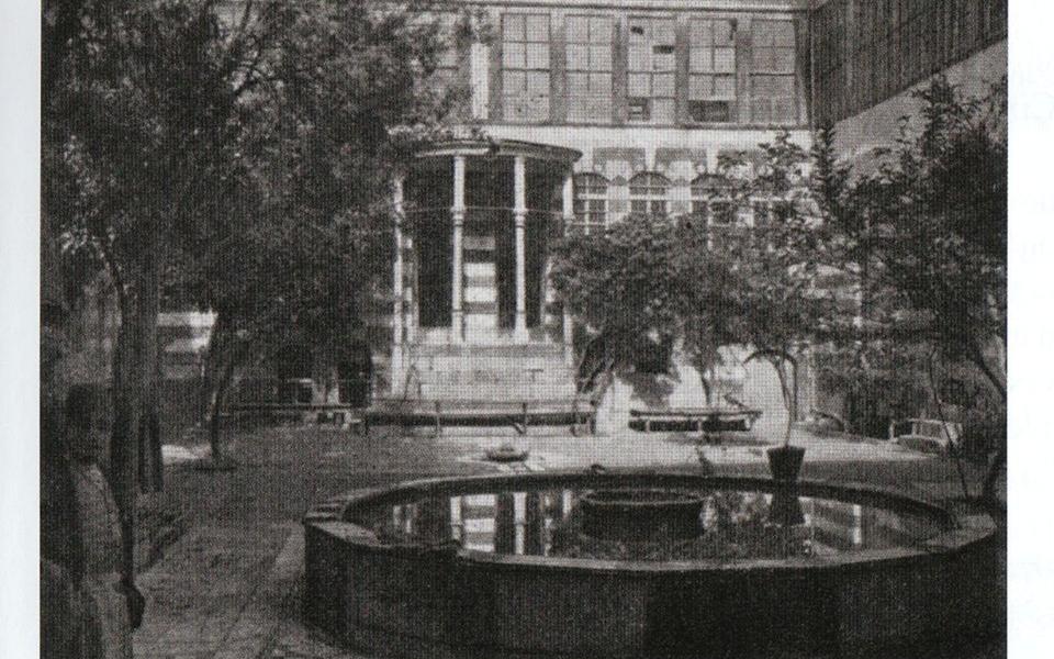 مكتب الشيخ قطنا عام 1917