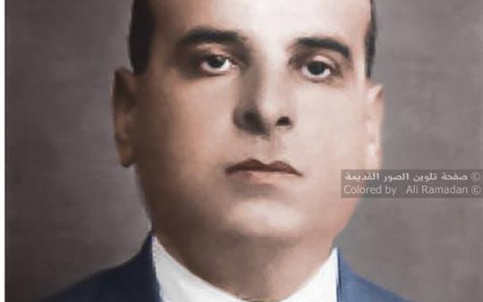 صور تاريخية ملونة - الطبيب حسني سبح