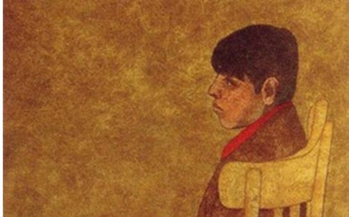 صبي 3 لوحة للفنان لؤي كيالي