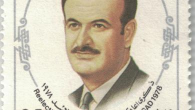 طابع بمناسبة ذكرى إعادة انتخاب حافظ الأسد عام 1978