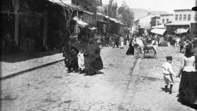دمشق 1905- ساحة سوق الخيل