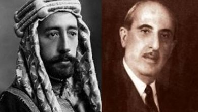 رسالة شكري القوتلي إلى فيصل بن الحسين 1927