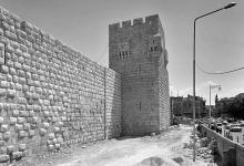 صورة دمشق 1988- أثناء ترميم قلعة دمشق