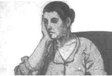 صورة امرأة.. لوحة للفنان لؤي كيالي (19)