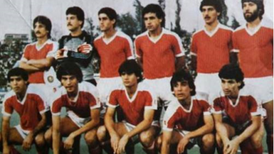 صورة مباراة سورية وقطر عام 1987
