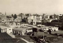 صورة دمشق 1929-  محلة السنجقدار