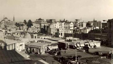 دمشق 1929-  محلة السنجقدار