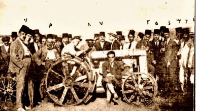 """عمرو الملاّح: سورية تدخل عصر """"المكننة الزراعية"""" (1922)"""