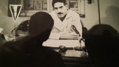 """صورة مؤتمر صحفي لـ """"بهاء الدين الخوجة"""" مدير إدارة المباحث الجنائية"""