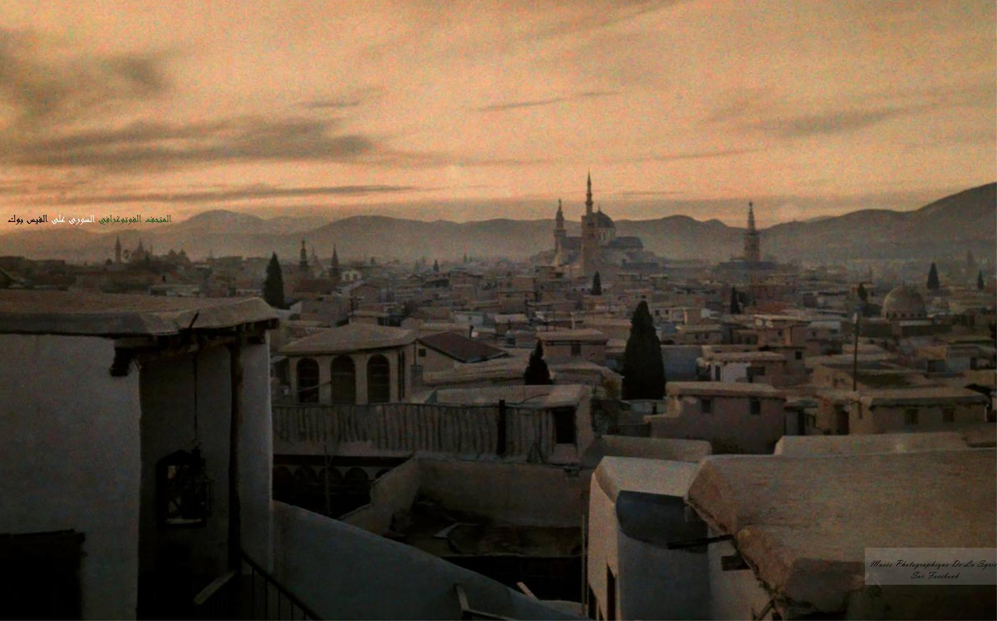 دمشق 1925- دمشق القديمة والجامع الأموي