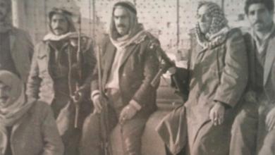 صورة تدمر 1963- بهاء الدين الخوجة مع مجموعة من رجال المباحث