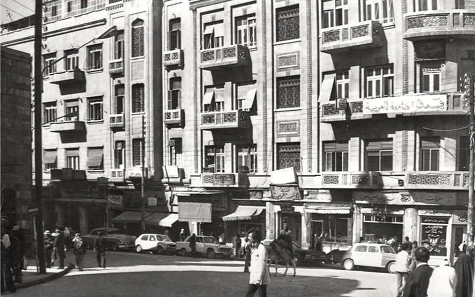 دمشق- المباني الحديثة في محلة السنجقدار