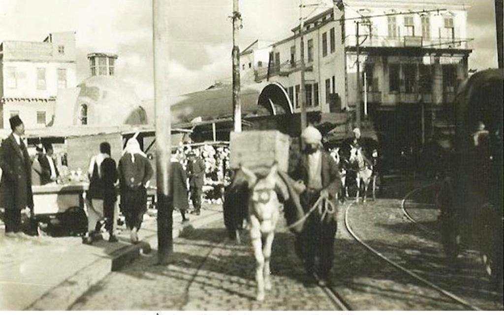 دمشق 1928- محلة السنجقدار بعد الحريق