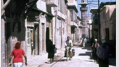 دمشق 1963- حارة مكتب عنبر