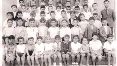 صورة اللاذقية 1944- طلاب مدرسة الفرير (الأرض المقدسة)