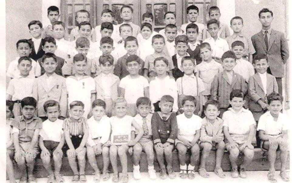 اللاذقية 1944- طلاب مدرسة الفرير (الأرض المقدسة)
