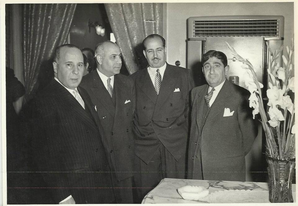 محمد سليمان الأحمد، علي بوظو، مأمون الكزبري ومنير العجلاني