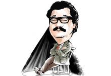 صورة نهاد قلعي كاتب وممثل خلق نجوم الكوميديا السورية