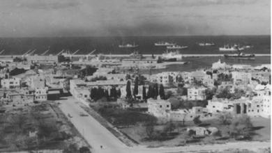 اللاذقية 1959 - شارع بوسعيد والميناء