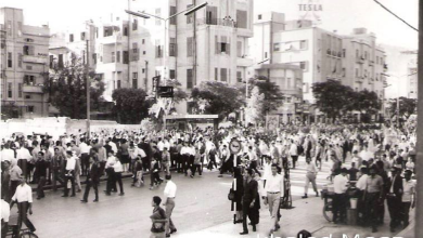 دمشق 1953- الاحتفال بعيد الجلاء (3)