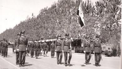 دمشق 1953- الاحتفال بعيد الجلاء (2)
