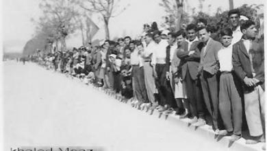 صورة دمشق 1953 – الاحتفالات بعيد الجلاء (1)