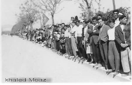 دمشق 1953 - الاحتفالات بعيد الجلاء (1)