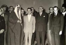 صورة اجتماع القادة العرب في بيروت عام 1956 (2)
