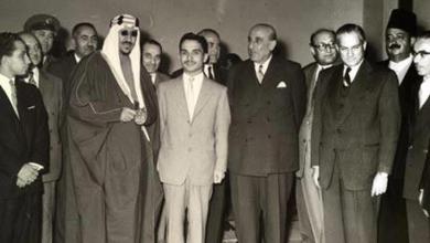 اجتماع القادة العرب في القاهرة عام 1957 (2)