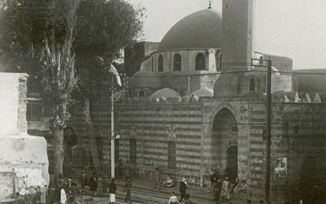 دمشق في العشرينات - جامع الدرويشية