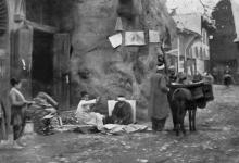 دمشق 1908 – شجرة الدلب المقدسة في سوق السروجية (4)