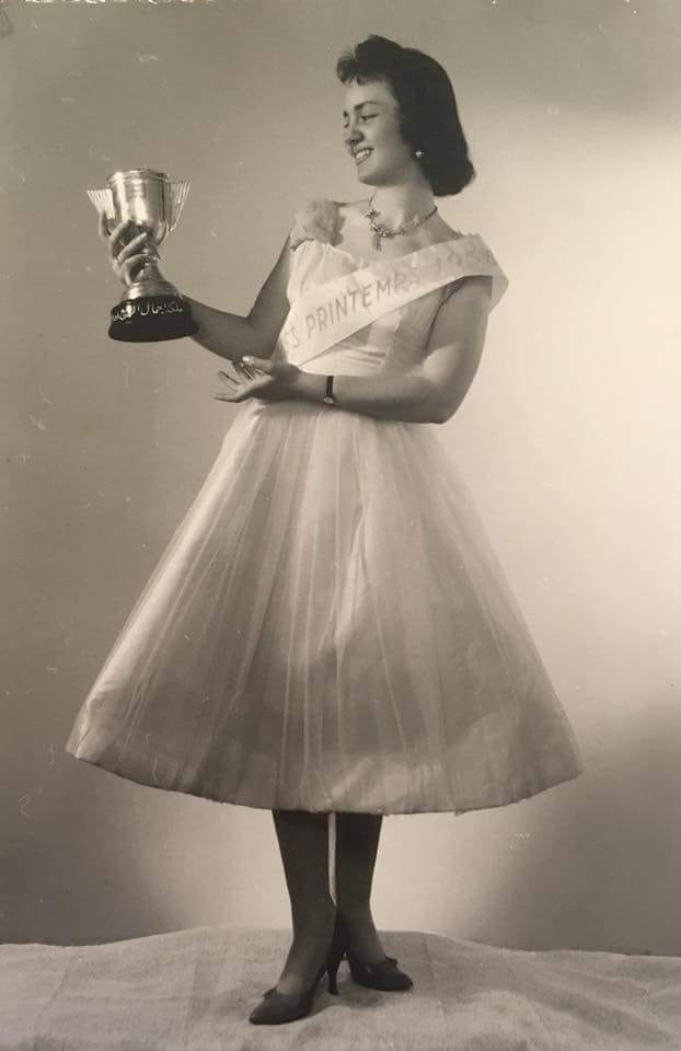 Maissa Medarres.. Miss Aleppo aus dem Jahr 1958