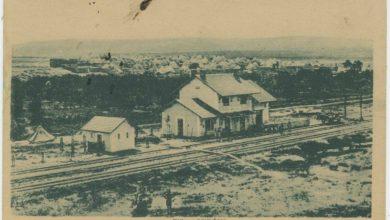 حلب 1910 - محطة قطار الوضيحي