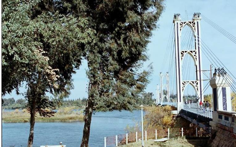 جسر دير الزور - عام 1986