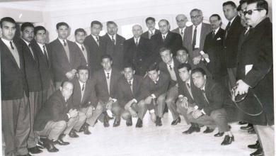 فريق الجيش السوري لكرة القدم في اليونان عام 1962