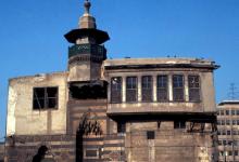 دمشق –  مبنى المدرسة الشاذبكلية الهجين