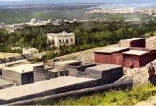 صورة قصر المهاجرين  – قصر حسين ناظم باشا – وبطاقة بريدية للقصر عام 1910   (8)