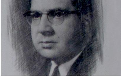 صورة حكمت هاشم .. رئيس جامعة دمشق 1958