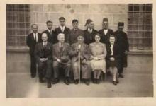 اللاذقية في الأربعينيات - الهيئة التدريسية في المدرسة الاميركية