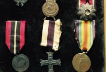 ميداليات وأوسمة الضابط صبحي العمري