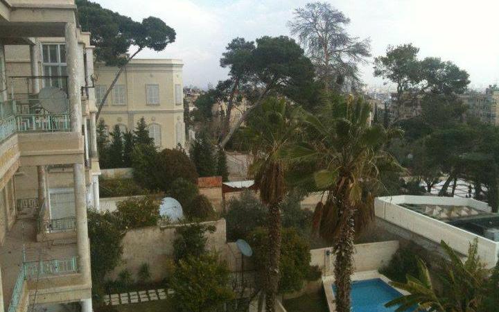 قصر المهاجرين – قصر حسين ناظم باشا  من الغرب إلى الشرق (15)